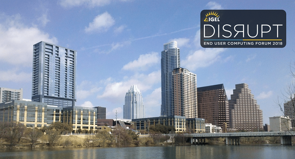 cryptovision to act as gold sponsor at IGEL DISRUPT in Austin, Texas
