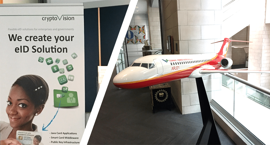 Visit cryptovision at the ICAO TRIP in Montreal