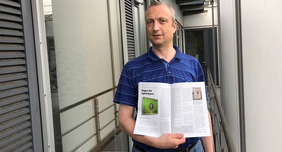 Klaus Schmeh veröffentlicht zwei Artikel in der aktuellen iX