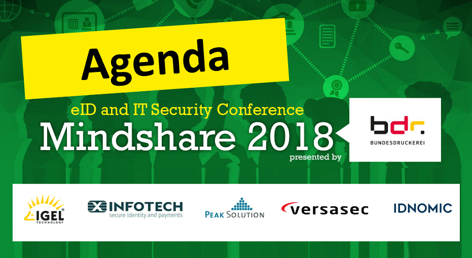 Mindshare 2018: Agenda is now online
