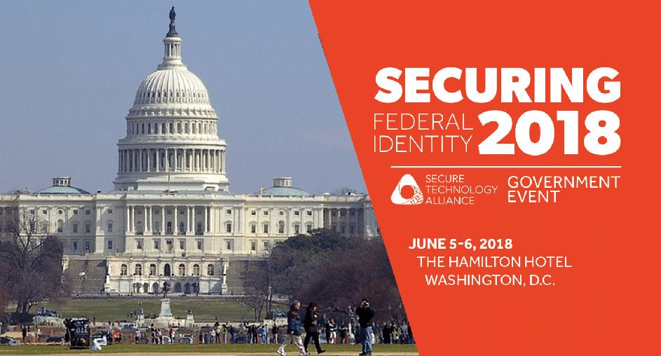 Besuchen Sie uns auf der Securing Federal Identity in Washington!