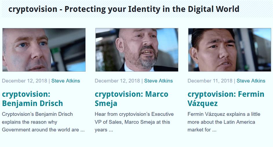 cryptovision-Mitarbeiter haben Auftritt im Video von Silicon Trust