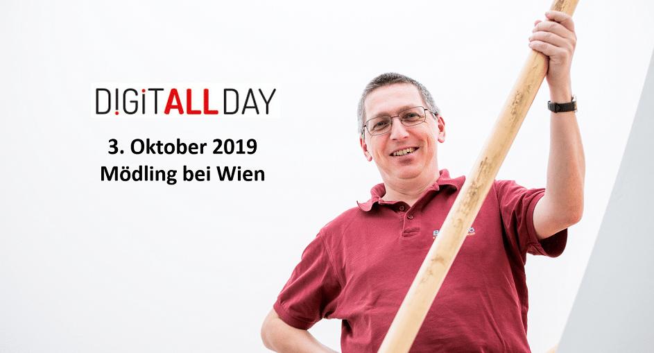 cryptovision gratuliert Max Paul auf dem Digitall Day in Mödling bei Wien