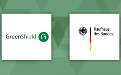 GreenShield: Jetzt auch im Kaufhaus des Bundes erhältlich