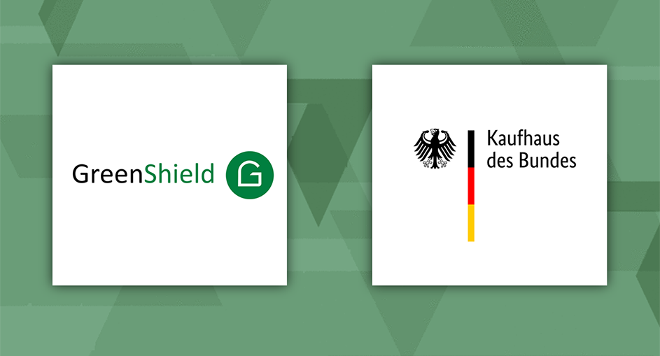 GreenShield: Now available in the Kaufhaus des Bundes